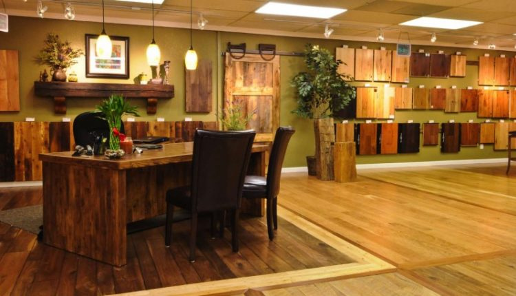 Contrasting Solid Hardwood Floors